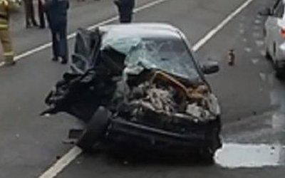 Водитель ВАЗа погиб в ДТП в Татарстане