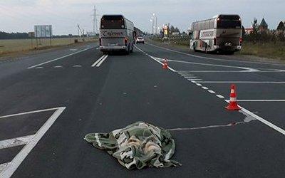 Автобус насмерть сбил женщину в Рязанской области