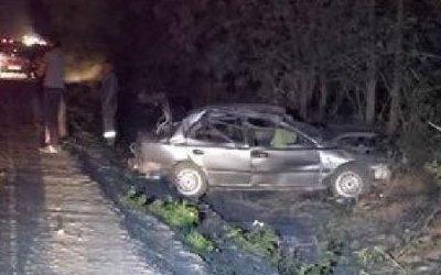 В Новокубанском районе в опрокинувшейся машине погиб водитель