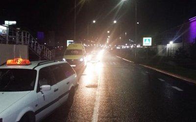 В Сочи иномарка сбила трех человек на переходе