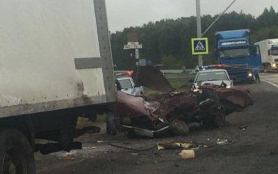16-летний водитель погиб в ДТП под Омском