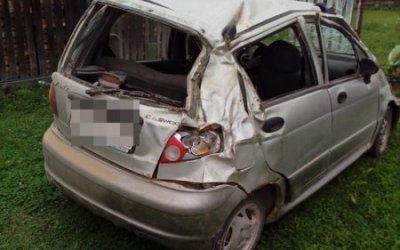 8-летний ребенок пострадал в опрокинувшейся машине в Тверской области