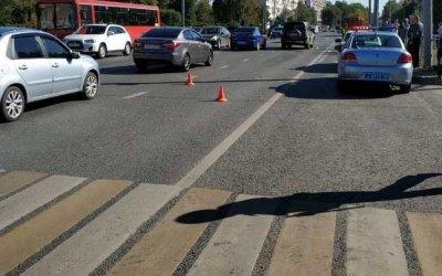 В Казани автомобиль насмерть сбил женщину с ребенком