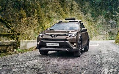 Путешествуйте с выгодой на Toyota RAV4