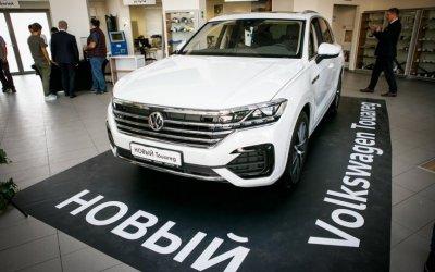 Путь превосходства с Volkswagen Touareg