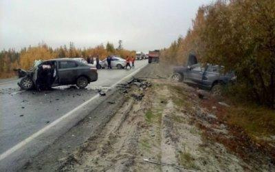 В Пуровском районе в ДТП погиб водитель иномарки