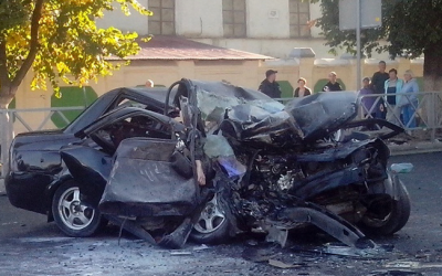 В Тамбове Lada Priora столкнулась с катком, четверо погибших