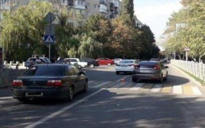 В Ставрополе автомобиль сбил 8-летнюю девочку на переходе