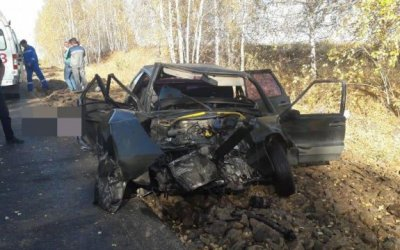 В смертельном ДТП в Башкирии пострадал 10-месячный ребенок