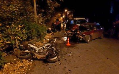 Два человека погибли в ДТП с мотоциклом под Томском