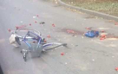 В Таганроге женщина на Opel сбила велосипедиста и уехала