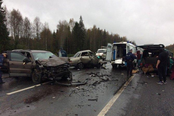 Трое погибли в ДТП в Вологодской области (1)