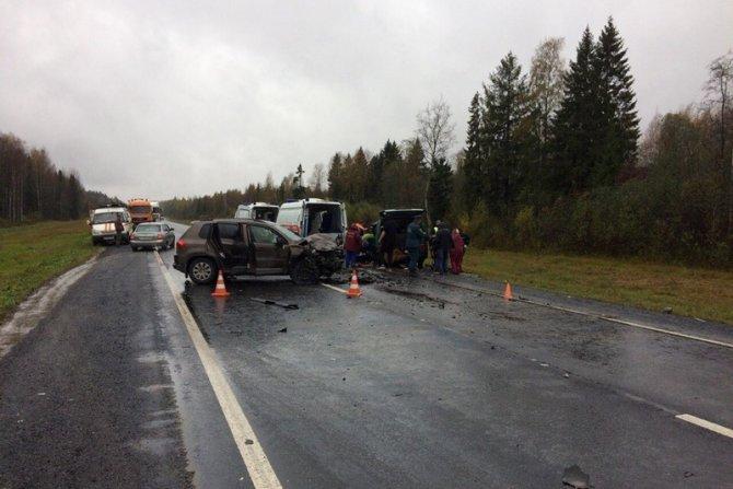 Трое погибли в ДТП в Вологодской области (3)