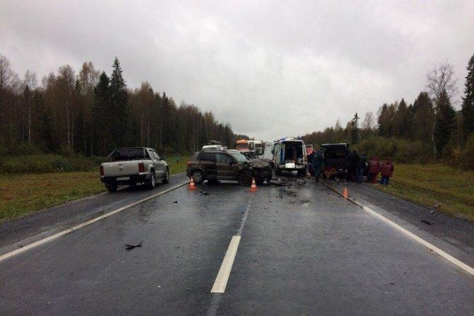 Трое погибли в ДТП в Вологодской области (6)