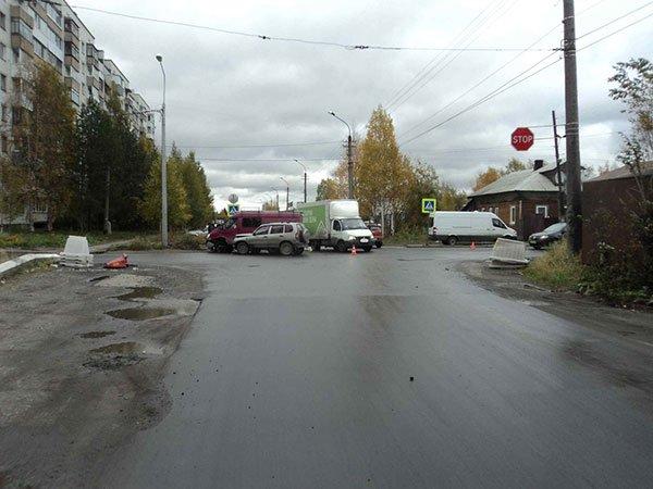 Двое детей пострадали в ДТП в Архангельске