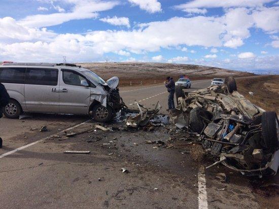 Два человека погибли в ДТП в Бурятии (3)
