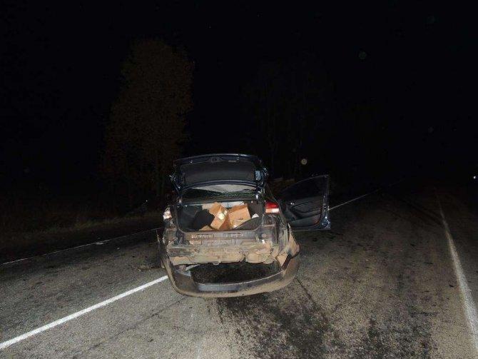 Водитель иномарки погиб в ДТП в Городецком районе (3)
