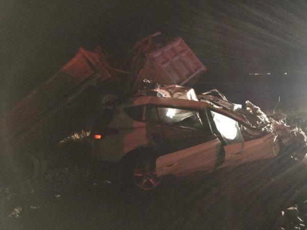 Водитель иномарки погиб в ДТП с грузовиком в Оренбургской области (1)