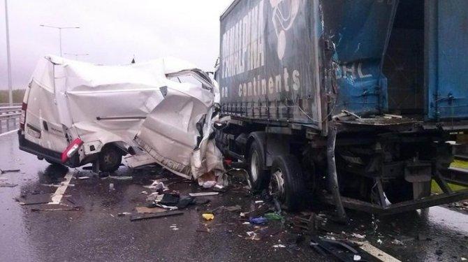 Два человека погибли в ДТП в Тосненском районе Ленобласти