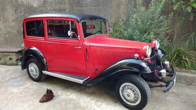 Adam Opel 1928 года