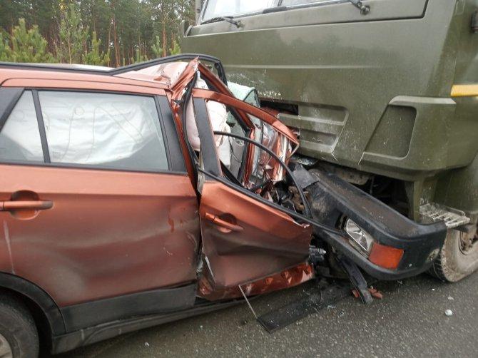 Три человека погибли в ДТП на Екатеринбургской кольцевой дороги (1)