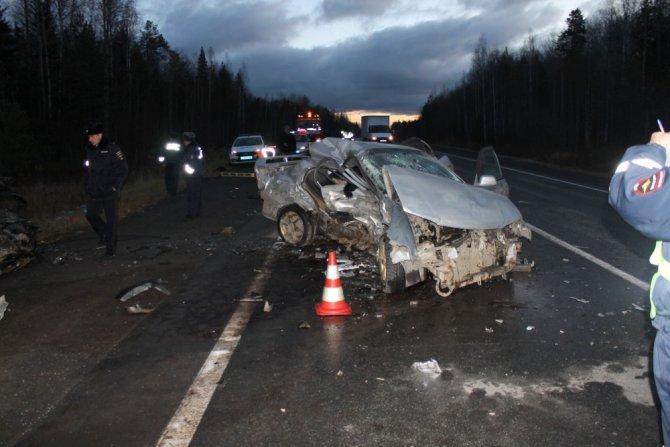 Четыре человека погибли в ДТП под Екатеринбургом (1)