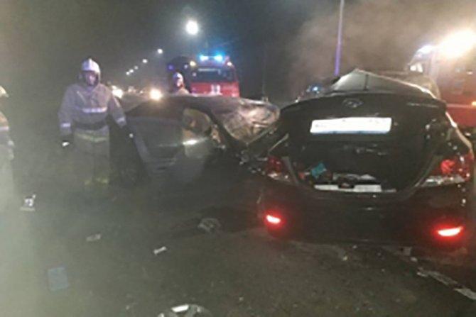 22-летний водитель погиб в ДТП под Брянском