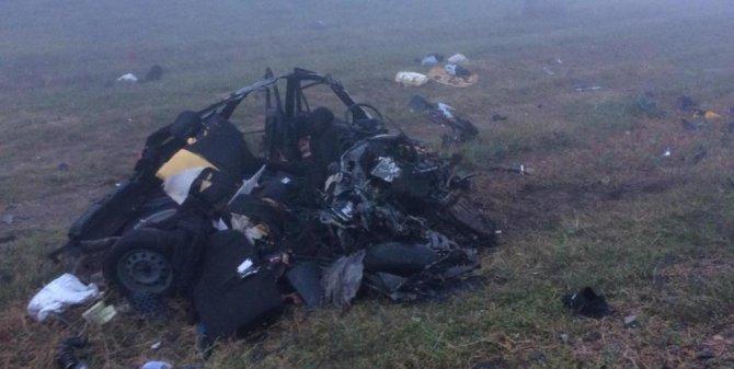 Водитель легковушки погиб в ДТП в Краснодарском крае (1)