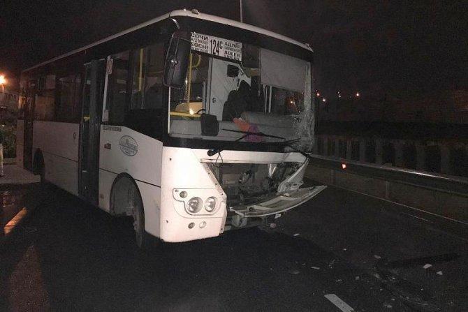 Четыре человека пострадали в ДТП с автобусом в Сочи (1)