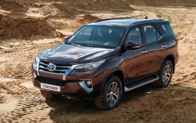 Toyota Fortuner в TRD-версии стала доступна в России