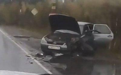 Три человека пострадали в массовом ДТП под Петрозаводском