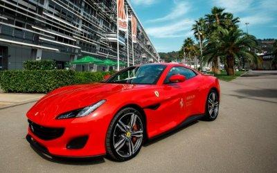 Ferrari Авилон представил Ferrari Portofino на Формуле 1 в Сочи