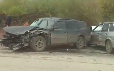 В Перми водитель насмерть сбил пенсионерку и устроил массовое ДТП
