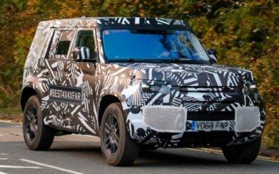 Папарацци «поймали» новый Land Rover Defender