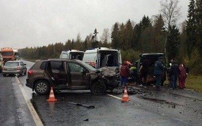 Трое погибли в ДТП в Вологодской области