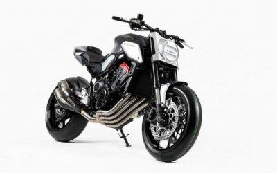 Концепт-байк Honda Neo Sports Cafe: двойная премьера