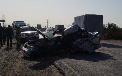 Два человека погибли в ДТП под Астраханью