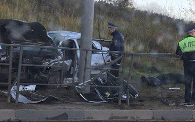 В Туле в ДТП погиб водитель иномарки