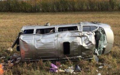 Двое погибли в ДТП с микроавтобусом в Мордовии