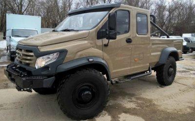 ВМоскве выставлен напродажу вездеход «ГАЗ Вепрь NEXT»