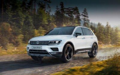 Почувствуй свободу – Volkswagen Tiguan OFFROAD