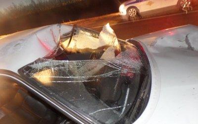 В Черемшанском районе Татарстана автомобиль насмерть сбил пешехода