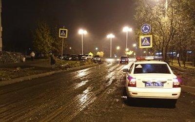В Апатитах водитель сбил школьника и скрылся