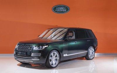 Последний в России  Range Rover Holland & Holland  продается за 12 млн. р.