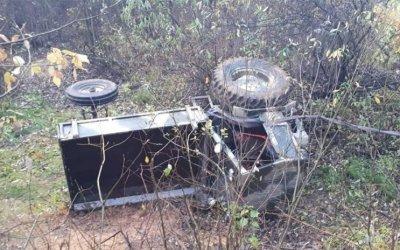 Пассажир трактора погиб в ДТП в Собинском районе