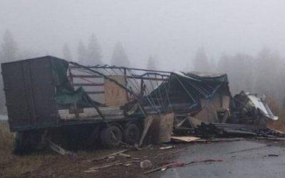 Два человека погибли в ДТП с грузовиком в Удмуртии