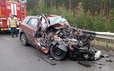 Три человека погибли в ДТП на Екатеринбургской кольцевой дороги