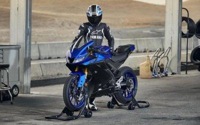 Yamaha показала новый спортбайк YZF-R125
