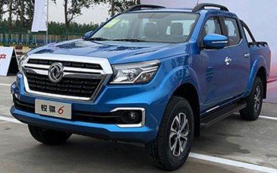 ВКитае начат выпуск бюджетного собрата Nissan Navara