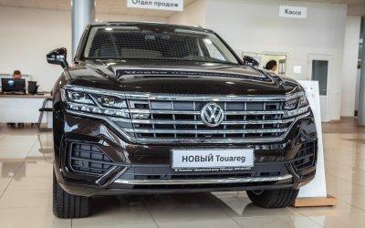 НОВЫЙ Volkswagen Touareg – равнодушных нет